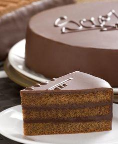 Sacher bolo | sobremesas on-line