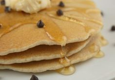 Food Allergy Friendly Chocolate Chip Pancakes