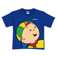 Personalized Caillou