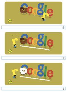 Viendo el #doodle de hoy, del Mundial con la espuma, me pregunto: ¿Cómo no voy a ser fan de #Google? :)