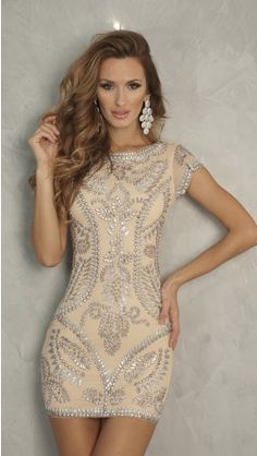 Whoa! Love this dress. I'll take it in every color under the sun, please.