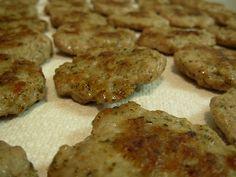 Turkey or Pork Breakfast Sausage