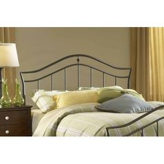 Imperial Headboard in Twinkle Black Size: Twin    Features: -Headboard with rails included. -Imperial collection.    $162.99