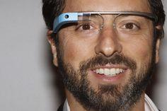 Sergey Brin and Google Glass