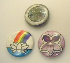 Tiny button auction by Iron City Alchemy.