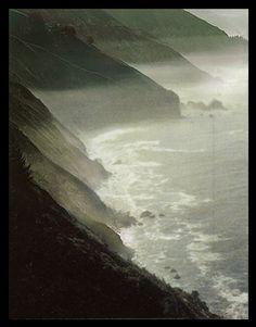 Eliot Furness Porter  Summer Island | Eliot Porter - 'mist on coast, big sur CA Sept. 1975' color dye ...