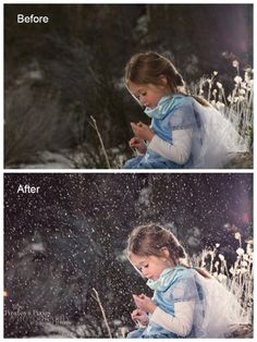 How to Get The Look of Faux Snow and a Winter Feel in Photoshop