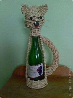 Поделка изделие Плетение котики Бумага фото 1