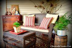 stenciled porch