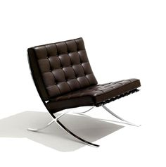 Barcelona chair by Ludwig Mies van der Rohe, 1929