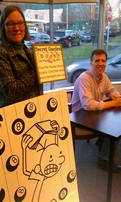 @SecretGardenBooks, Seattle #HardLuck @Chana Abrams