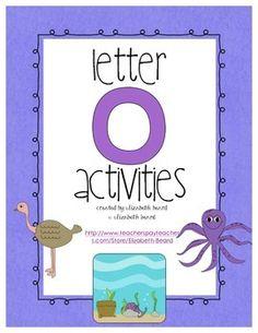 Letter O Activities abc, 123, preschool idea, teach, letters, letter o activities, tpt store, kiddo, letter activ