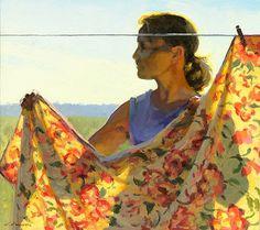 """Jeffrey T. Larson, """"Morning Glow"""""""