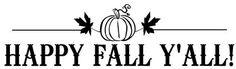 Favorite Fall Vignettes!