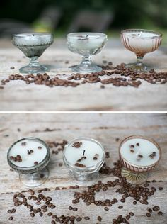 Make Your House Smell Amazing with DIY French Vanilla Candles Crafts Ideas, Diy Candles, Coffee Diy, Coffee Beans Diy, Crafty Things, French Vanilla, Vanilla Candles, House Smells, Diy French