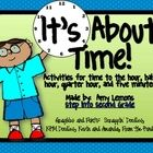 This download includes activities for telling time to the hour, half hour, quarter hour, and five minutes.  Here's what you'll get:**Student sc...