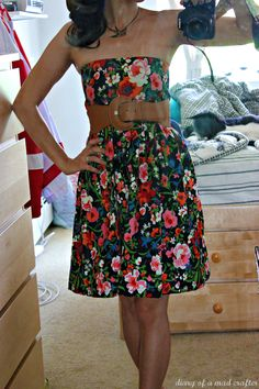 Easy DIY from a maxi skirt to a dress. boot, fashion, craft, style, skirts, sew idea, dresses, diy cloth, denim shorts