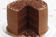 Triple layer chocolate cake - Our 20 best chocolate cake recipes