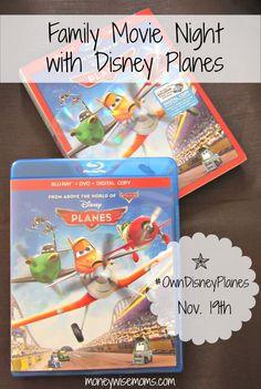 Family Movie Night with Disney Planes | MoneywiseMoms #shop #cbias
