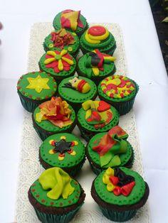 Vegan cupcakes #rasta #vegan #cupcakes