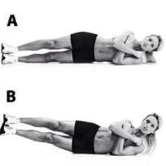 Side crunch, Women's Health Magazine, love handles, workout