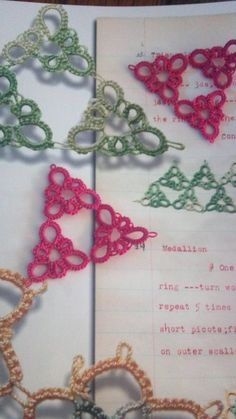 DIY: Needle Tatting 101, 2 videos #tat #tatted #lace #instructions #tutorial #tutorials