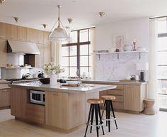 thomas obrien west village loft kitchen