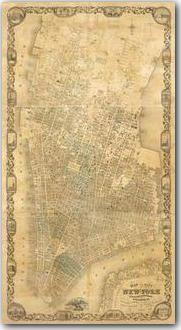 Manhattan Map #vintage #map #manhattan #NYC