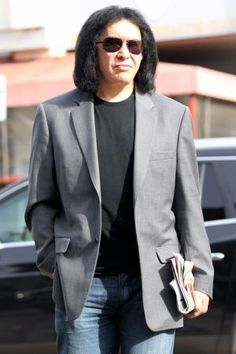 Gene Simmons out and about in West Hollywood, CA.