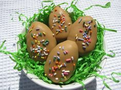 Inside Out Reese's Peanut Butter Easter Eggs