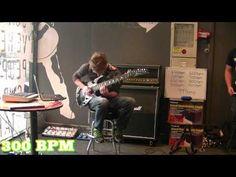 Worlds Fastest Guitar Player 2012 999BPM. @febbytan hv u watch this?