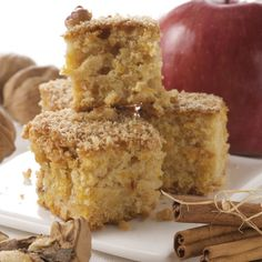 apple cinnamon cake. Perfect for after apple picking!
