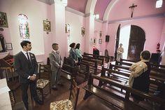 Wedding in St. Finbarr's Oratory, Gougane Barra, Ireland
