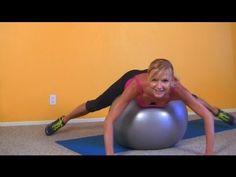 Ćwiczenia na Nogi, Uda, Pupę i Brzuch ♦ Trening na Piłce Stabilizacyjnej #brzuch #ćwiczenia #fitness #trening #uda