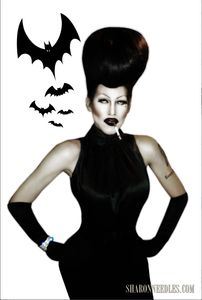 TACKY OVERPRICED CRAP BY SHARON NEEDLES — UNCLASSIC SILHOUETTE POSTER - via http://bit.ly/epinner
