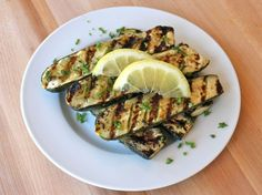 Grilled Lemon Butter Zucchini - excellent, and no grill needed. I made mine in cast iron on the stove.