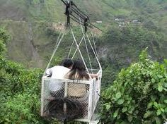 It called a terabithia! That is spanish in Ecuador for Cable car!