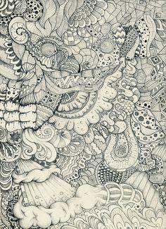 Zentangle art.