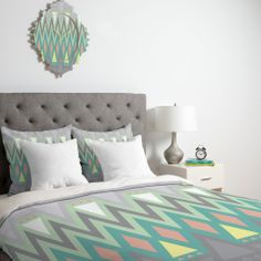 Gabi All Things New Duvet Cover | DENY Designs Home Accessories