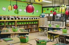Blog full of classroom decorating ideas