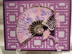 Creations by Patti: Asian Delight Local King Rubber Stamp Fan Card