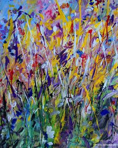 Mario Zampedroni, Flores abstractas, 2011. http://www.zampedroni.com/tag/abstract-flower-painting/# flower 2011, flower paintings, abstract flower
