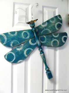 Dragonflies - Stripes, Circles, Zebra, Leopard and Tin Tile Wings | Lucy Designs