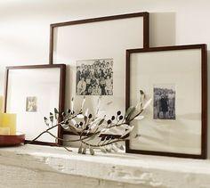 Wood Gallery Oversized Mat Frames #potterybarn
