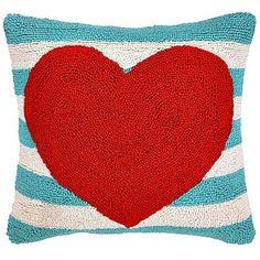 Red Heart Pillow - A