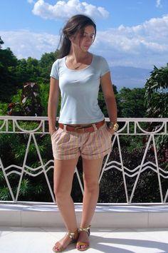 SBCC Free t-shirt pattern by SewingFrenchGirl | Project | Sewing / Shirts, Tanks, & Tops | Kollabora #diy #kollabora #sewing #shorts