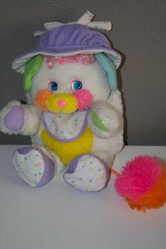 Popple Plush 1980's Toy Bibsy Popple on Etsy, $24.00