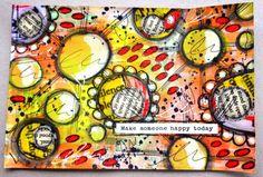 Tracy Scott - art journal inspiration sketchbook.