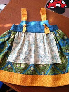 Apron Knot Dress - DIY