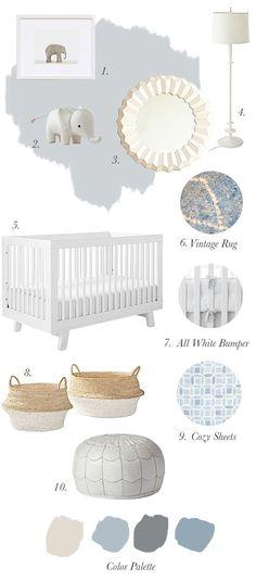Nursery Progress: The Inspiration (via Bloglovin.com )